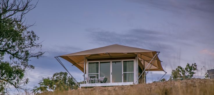 Eco Tent Glamping Retreat, at Sierra Escape. Australia Tourism - The new camping.