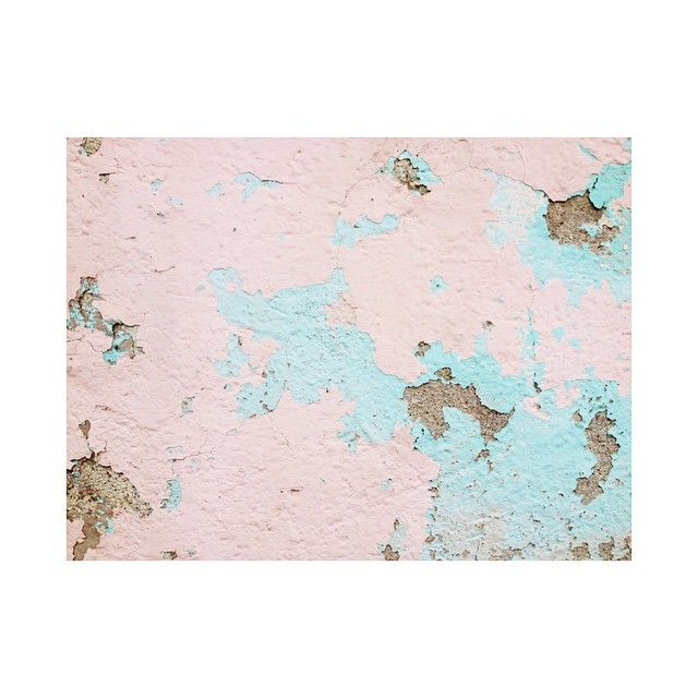 Layers  #wall #muro #layers #painting #pintura #capas #pink #mint #composition