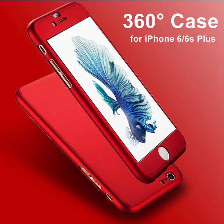Ultra Thin 360 Case + 9H Tempered Glass Screen Protector for Capinhas iPhone 6 6S Plus Phone Case Full Body Cover Fundas Capa US $2.68