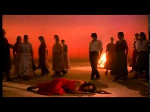El Amor Brujo - Danza Ritual del Fuego & Canción del Fuego Fatuo. Carlos Saura. His Flamenco Trilogy of the 1980s includes Bodas de Sangre (Blood Wedding), Carmen, and El amor brujo (Love the Magician) featuring the work of Spanish flamenco dancer Cristina Hoyos.