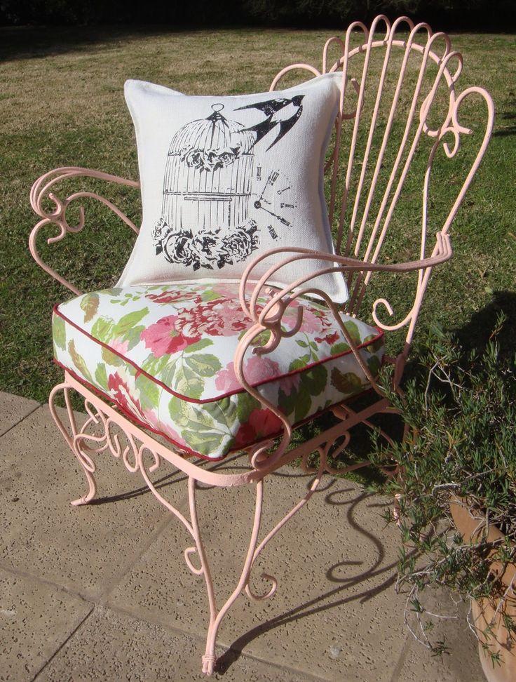 Sillon de hierro - Vintage chair