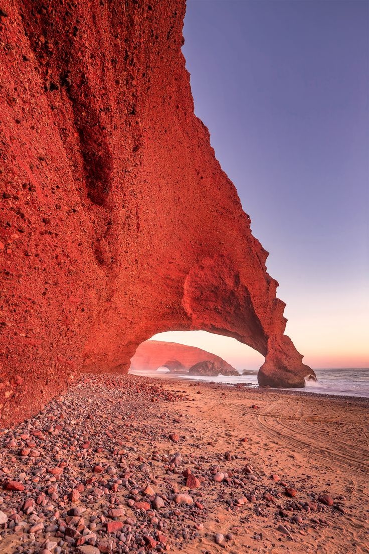 Legzira Beach, Morocco.
