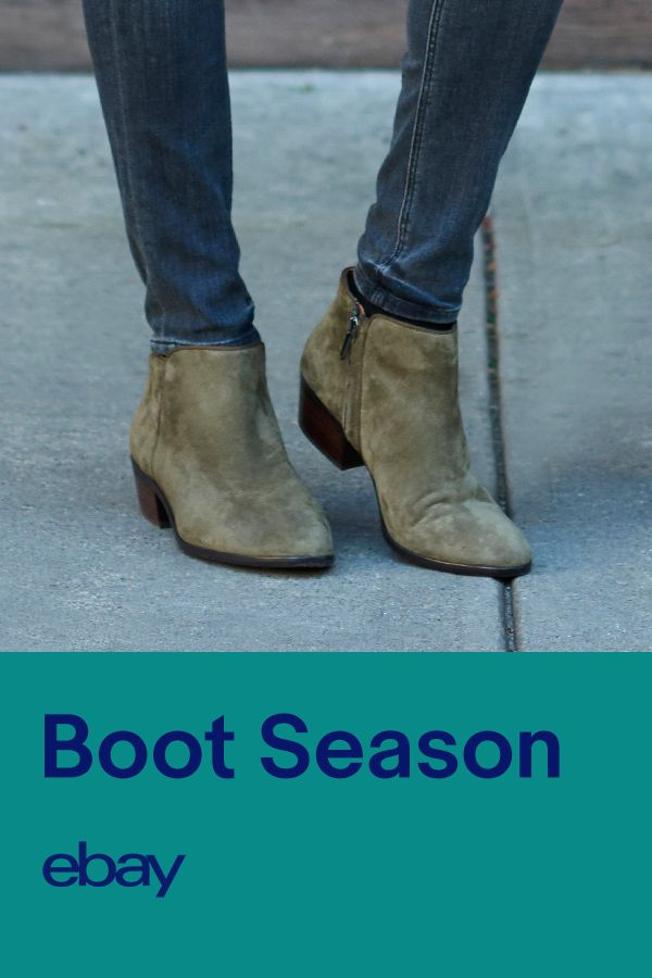 Fall = boot season. Kick up your feet in the latest styles and looks. Shop eBay for ankle boots.