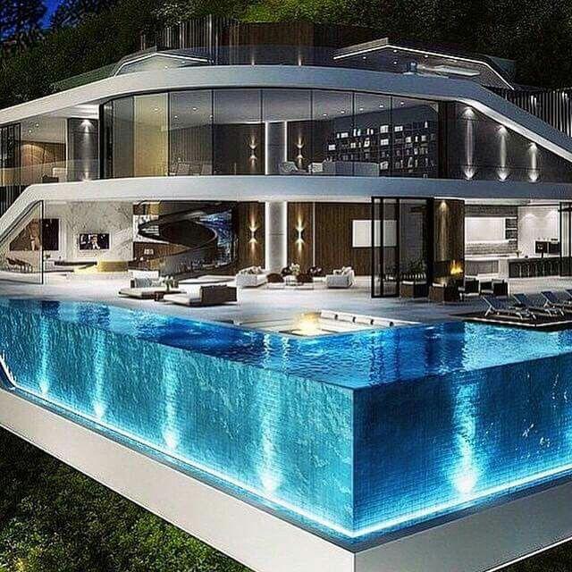 cool homes and pools beautiful homes pinterest moderne h user erster tag und architektur. Black Bedroom Furniture Sets. Home Design Ideas