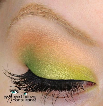 blgsss2 - Look 4 MAC eyeshadows used:      Bitter (inner third of lid)     Lucky Green (middle of lid)     Swimming (outer third of lid)     Samoa Silk (crease)     Blanc Type (blend)