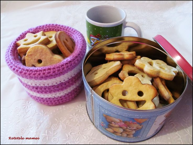 Biscuiți zâmbăreți