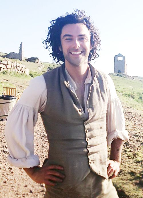 Aidan Turner as Ross Poldark - promo shot for BBC due out in 2015