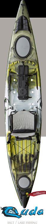 Fishing Kayak: Cuda 14, Sit On Top Kayak, Tandem Kayak, Angler Kayak | Jackson Kayak Jackson Kayak – Whitewater Kayaks, Fishing Kayaks, Recr...
