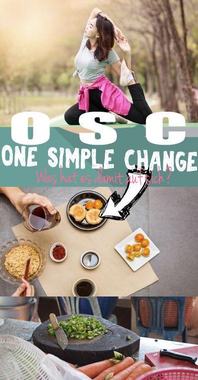 OSC (One simple Change) ist eine neue Art der Ernährung, der Lebenseinstellung und vieles mehr. Wir haben uns die Ernährung der OSC Diät zum abnehmen mal angesehen.