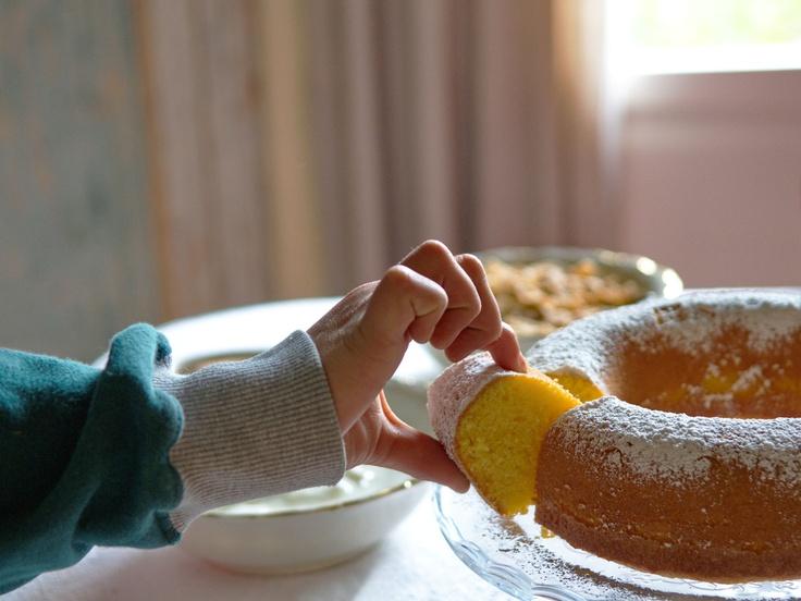 ... con torta breakfast with cake | Colazione - Breakfast | Pi