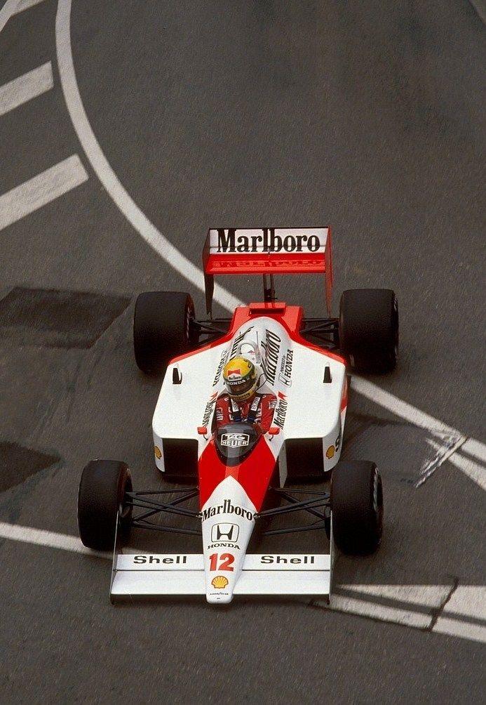 Ayrton Senna  McLaren - Honda 1988