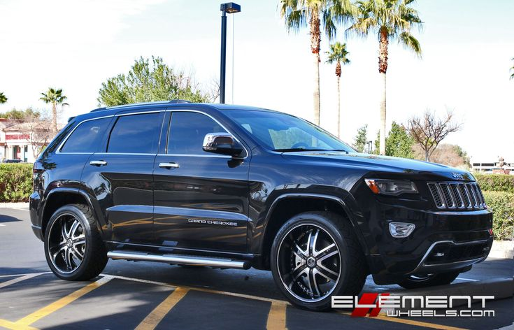 Jeep Grand Cherokee With 2Crave No-04 Wheels by Element Wheels in Chandler AZ . Click to view more photos and mod info.