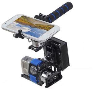 FPV 3軸ハンドヘルドブラシレスカメラジンバルW /モーター&ジンバルコントローラ Gopro 2 Gopro 3用 の画像