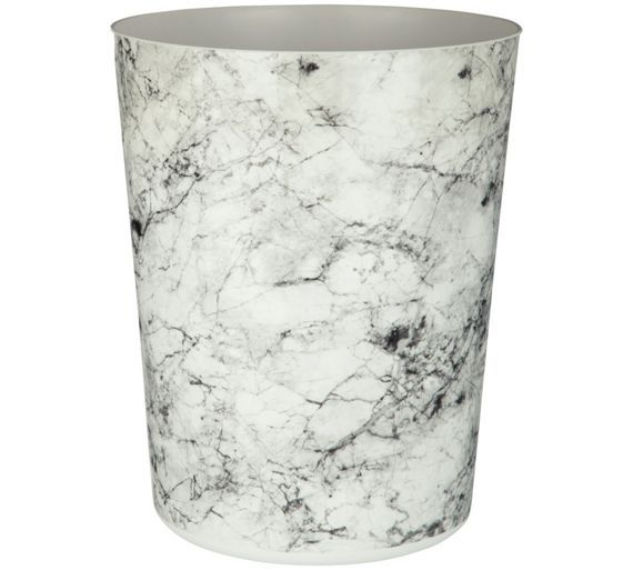 Buy Rome Marble Effect Waste Bin at Argos.co.uk, visit Argos.co.uk to shop online for Bathroom sets and fittings, Bathroom accessories, Home furnishings, Home and garden