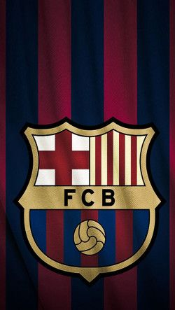 FC Barcelona Logo iPhone 5 wallpaper.