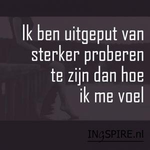 Kwetsbare spreuk maar uit het hart...Pin ook! - ingspire.nl