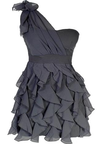 .: Ruffle Dress, Style, Cute Dresses, Bridesmaid Dresses, One Shoulder