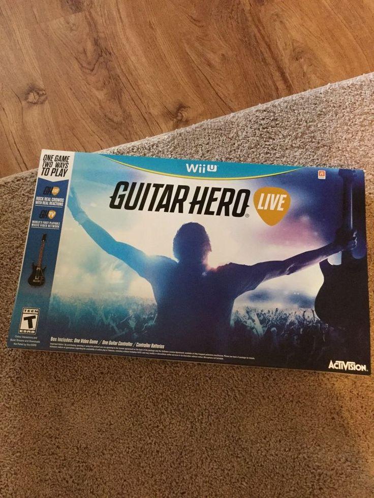 Guitar Hero Live Bundle (Nintendo Wii U, 2015)