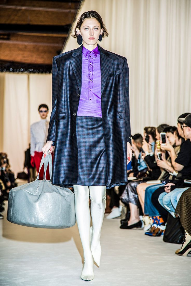 Scenes from the spring/summer 2017 collections which were presented in Paris on Sunday.