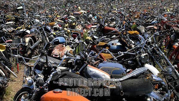Bike Boneyard Suzuki