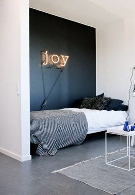 17 best images about blue on pinterest grey daniel o for Neon signs for bedroom