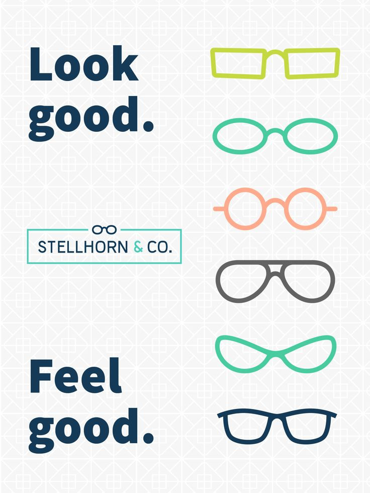 Look good. Feel good. Every time you buy contacts through Stellhorn and Co., we donate glasses to someone in need.