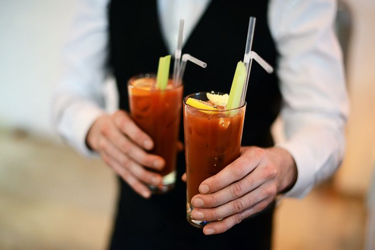 Bloody Marys by The Liquor Store.  photo by @thegaztronome #RescueBrunch