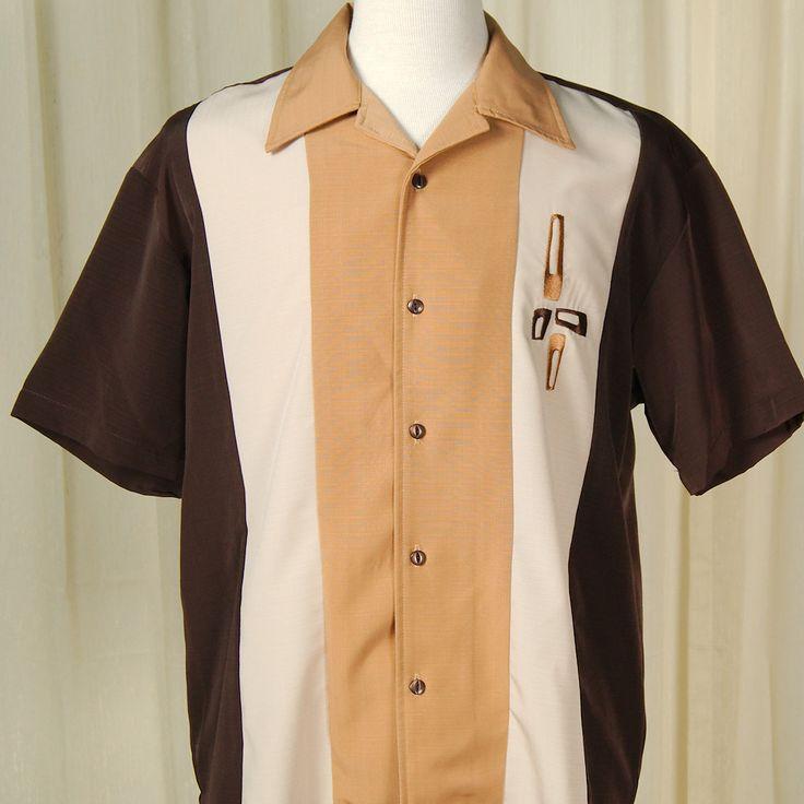 Eames Triple Tone Bowling Shirt