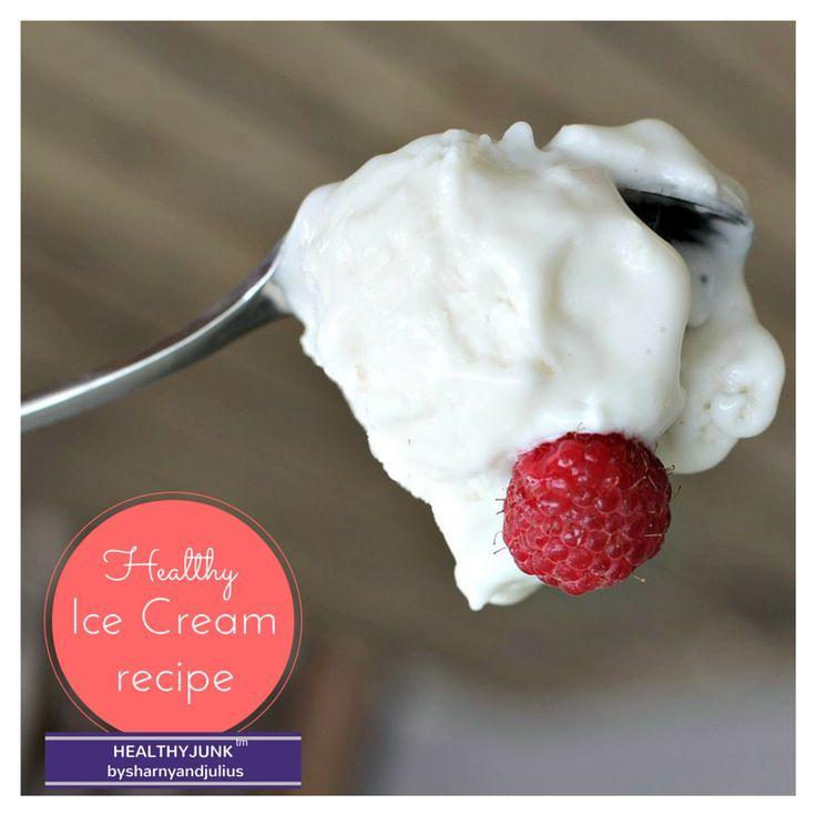 Healthy Ice Cream Recipe | Sharny and Julius