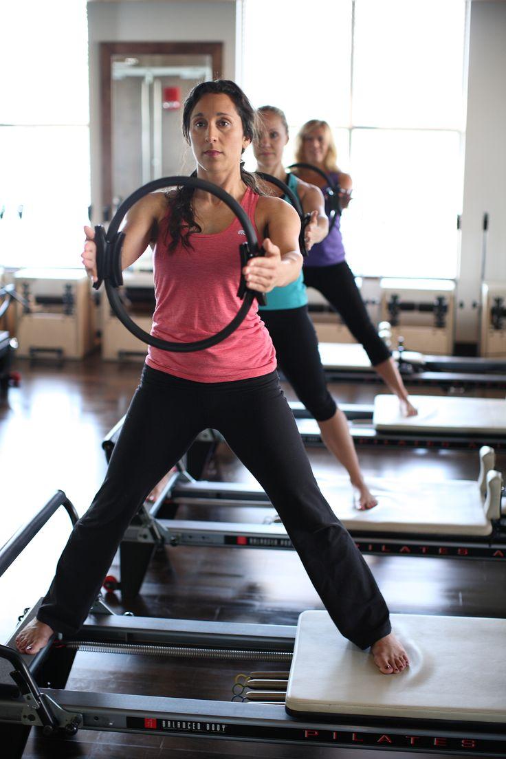 Standing Side Splits On The Pilates Reformer Pilates