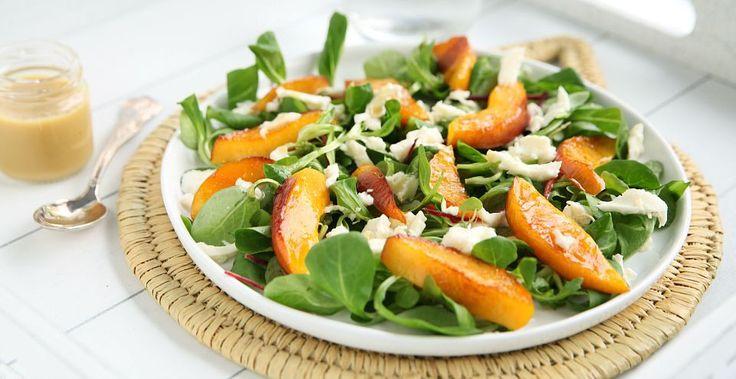 Gegrilde nectarine salade | Bye Bye Cheeseburger