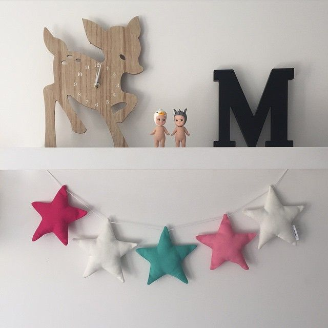 Another garland sent to @commongroundhome today, this is one of my favourites with the hot pink! #littlebambinobear #commongroundhome #wabusinessdirectory #kidsdecor #nurserydecor #wamade #australianmade