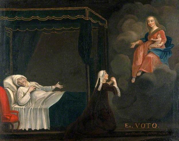 Oil Painting Jesus Praying