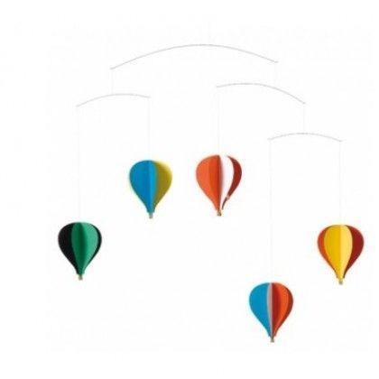 Flensted Mobiles Balloon Hanging Ceiling Mobile | Christian Flensted
