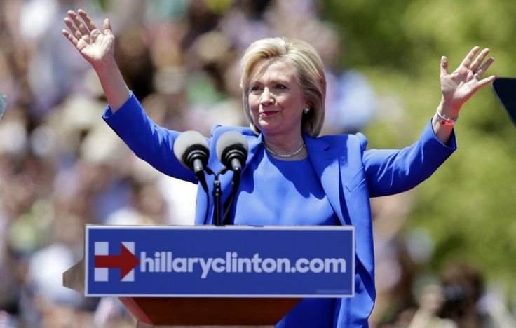 6/17/15  12:28p  Wash Post Hillary Clinton is owning the joke about her fashion choices - and it's working.  GOP: Fat Old Bald Men w/No Style wapo.st