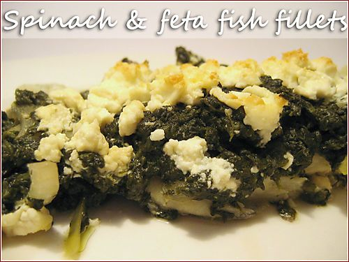 Spinach And Feta Fish