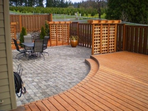 11 best deck & patio for the river house images on pinterest ... - Deck And Patio Designs
