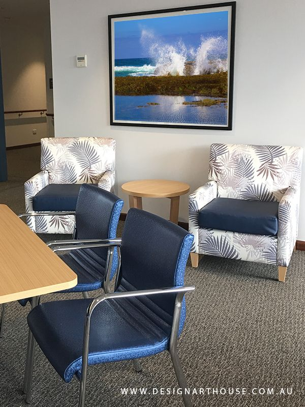 Custom occasional armchairs and activity chairs for Aged Care Residence.