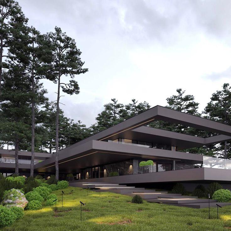 1190 besten einfamilienhaus bilder auf pinterest grundrisse moderne h user und architekten. Black Bedroom Furniture Sets. Home Design Ideas