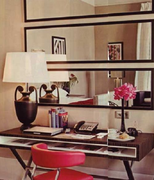 Since larger mirrors tend to be a little on the pricey side, decorate your wall by using multiple small mirrors. Description from housemadehome.com. I searched for this on bing.com/images