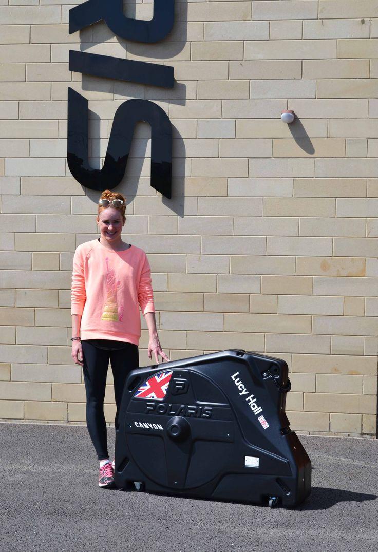 Lucy Hall  Triathlon - Team GB - Travel The World - Challenge -   Polaris Bikewear - Just add your bike