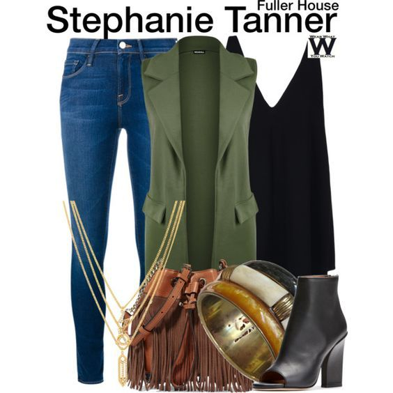 Inspired by Jodie Sweetin as Stephanie Tanner on Fuller House - Shopping info!