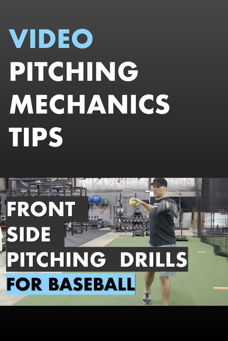 Learn Front Side Drills For Baseball Pitchers These