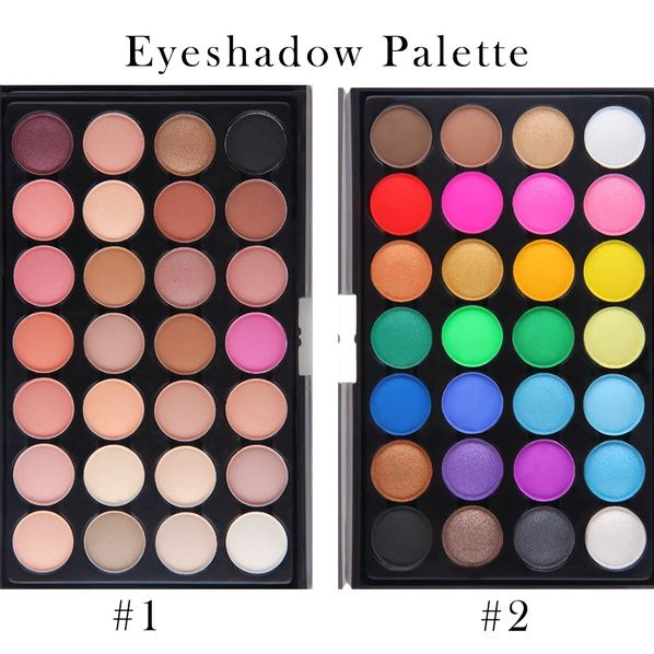 28 Colors Fashion Womens Ladies Beauty & Makeup Ultra Shimmer Eyeshadow Palette | @giftryapp