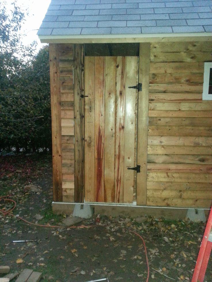 The door.  Still in progress in this picture.