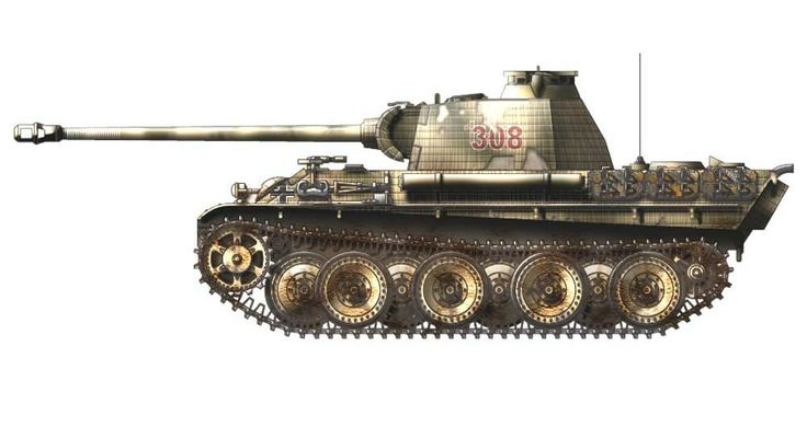 Germany - Panzer V Panther G | Let's Roll Out! | Pinterest ...