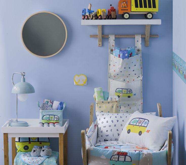 Decora el primer dormitorio de tu bebé con #Casaideas