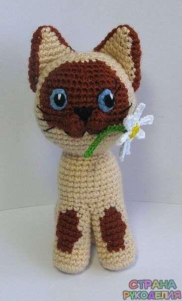 Котик - Игрушки - Рукоделие и творчество - Рукоделие