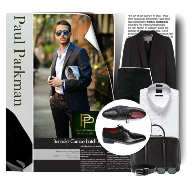 """""""Paul Parkman - Men's Luxury Fashion"""" by monmondefou ❤ liked on Polyvore featuring Mulberry, McQ by Alexander McQueen, Banana Republic, Givenchy and Burberry"""
