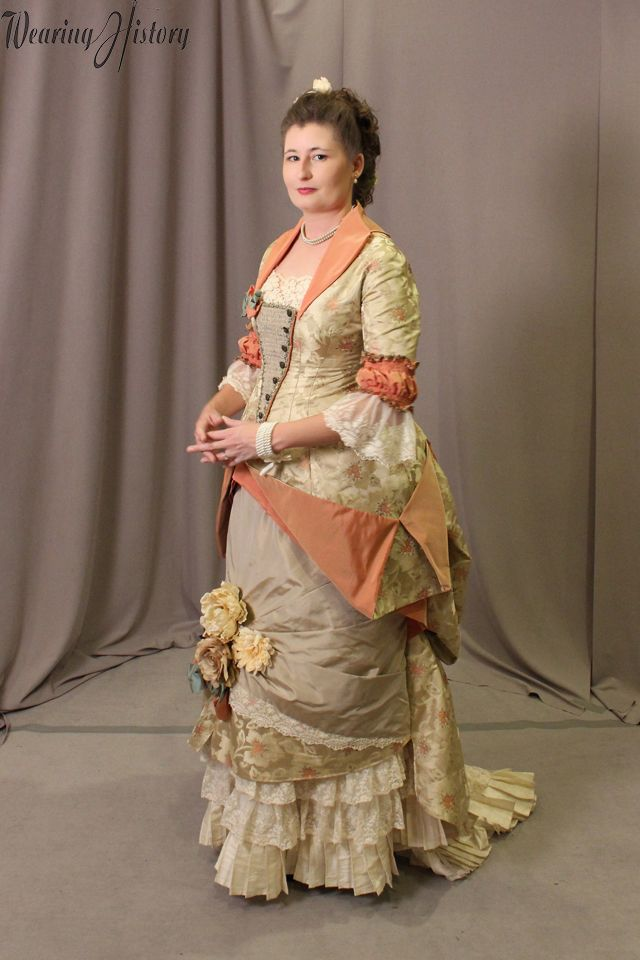 Finished Project:  Natural Form Gala Gown for Costume College – Wearing History® Blog